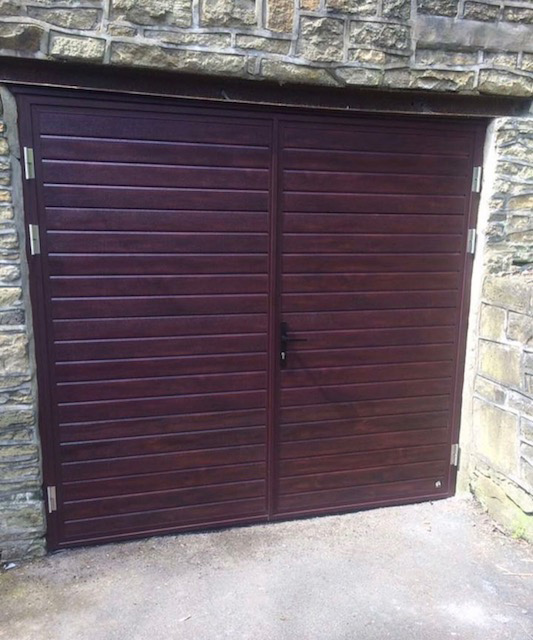 Side Hinged Garage Doors Ace Garage Doors Macclesfield