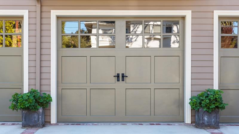 Side Hinged Garage Doors In Macclesfield Cheshire